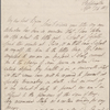 Autograph letter signed to Lord Byron, 24 September 1817