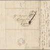 Autograph letter signed to Augusta White, 25 October 1817