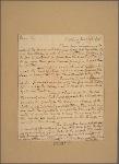 Letter to George Washington, Cambridge [Mass.]