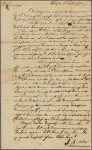 Letter to Brigadier-General [Jethro] Sumner