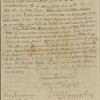 Letter to John Sevier, Governor of Tennessee