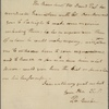 Letter to Henry Potter, Raleigh [N. C.]