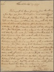 Letter to [Richard Caswell, Governor of North Carolina.]