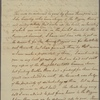 Letter to [Samuel Johnston, Edenton. N. C.]