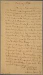 Letter to Abner Nash Governor of North Carolina [Hillsborough]