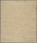 Letter to Jacob Read, Philadelphia