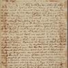 Letter to [John Laurens? in France.]