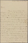 Letter to Col. Jeremiah Wadsworth, Hartford, Conn