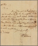 Letter to William Fox