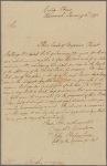 Letter to Mr. Birch, Augusta