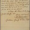 Letter to Governor [George] Mathews [Augusta]