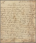 Letter to --, of Georgia