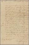 Letter to Timothy Dwight, Northampton, Mass