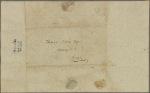 Letter to Thomas Nelson, Attorney U. S., York [Yorktown, Va.]