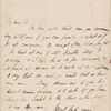 Autograph letter signed to W.T. Baxter, 10 December 1817