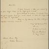 Letter to David Mann