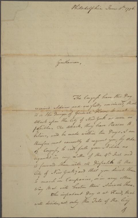 on 6/11/1776