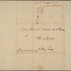 Letter to Baron Steuben, Head Quarters, Valley Forge