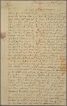 Letter to Nicholas Cooke, Gov. of Rhode Island