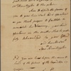 Letter to Col. [Jeremiah?] Wadsworth [Hartford, Conn.?]