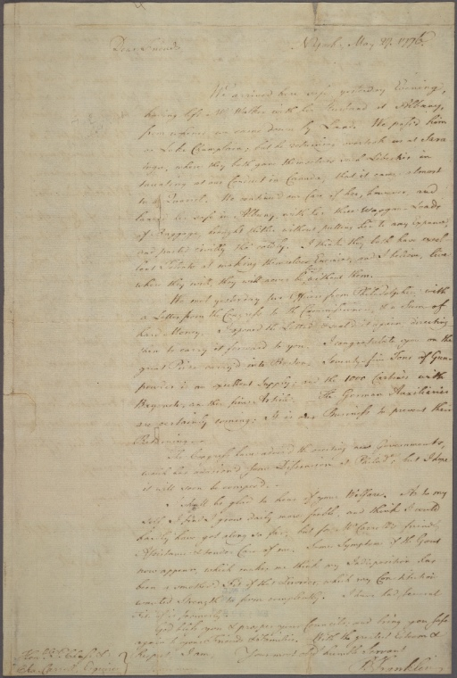 Fascinating Historical Picture of United States. Declaration of Independence on 5/27/1776