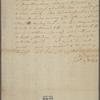 Letter to Thomas McKean [Philadelphia]
