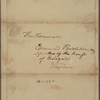 Letter to Edmund Pendleton, Speaker of the Virginia House of Delegates