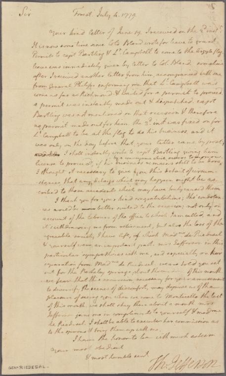 on 7/4/1779