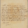 Letter to Thomas Percy, Dean of Carlisle, afterwards Bishop of Dromore