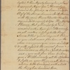 Letter to the Deputy Governor of Pennsylvania [William Denny]