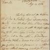 Letter to [William Eden.]