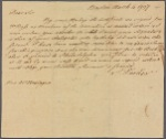 Letter to Rev. Montague