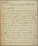 Letter to [the Home Secretary, William Henry Cavendish Bentinck,] Duke of Portland