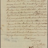 Letter to Peter Tappan, Poughkeepsie