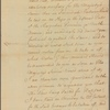Letter to James De Lancey, Governor of New York