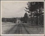 Road work at Crabtree Creek, Recreational Demonstration Area, near Raleigh, North Carolina.