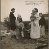 Along the highway near Bakersfield, California. Dust bowl refugees