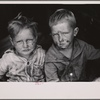 Children of migrant fruit worker, Berrien County, Mich.
