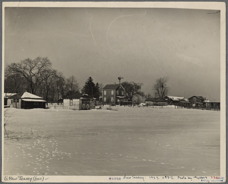 This is What Carl Mydans and New Jersey Looked Like  on 2/1936