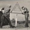CCC (Civilian Conservation Corps) boys at work. Beltsville, Maryland.