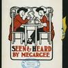 "DINNER IN HONOR OF ABOVE [held by] MR. LOUIS N. MEGARGEE [at] ""HOTEL EDOUARD, PHILADELPHIA, PA"" (HOTEL;)"