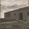 Adobe school. Bosque Farms Project, New Mexico. 1935.