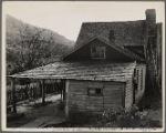 Farm buildings. Shenandoah National Park, Virginia