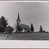 Country church, Monona County, Iowa.