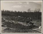 Beginning of dam at lake site. Berwyn, [Greenbelt,] Maryland.