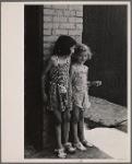 Children in slum district. Baltimore, Maryland.
