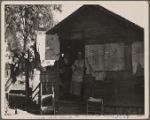 Migrant workers' shack. California. 1935
