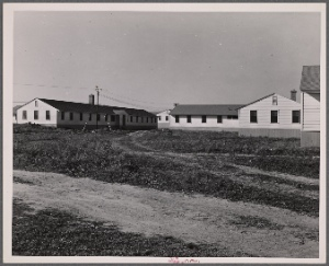 Dormitories built to accomodate single men. FSA (Farm Security Administration) defense housing project. Hartford, Connecticut.