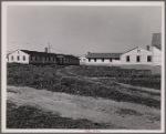 Dormitories built to accomodate single men. FSA (Farm Security Administration) defense housing project. Hartford, Connecticut.