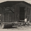Typical East El Centro home, (Mexican field laborer) El Centro, Imperial Valley, Calif. 1936.